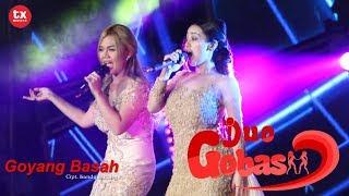 """GOYANG BASAH !!! """" DUO GOBAS """" di HUT ANTV ke 25  SURABAYA 2018 yang tidak tayang di TV"""