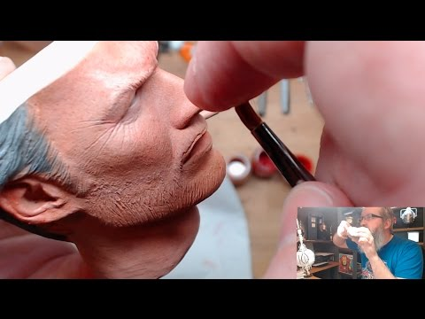 Man With No Name (Clint Eastwood) Patreon Sample - PF 1/4 scale statue painting skin detail tutorial