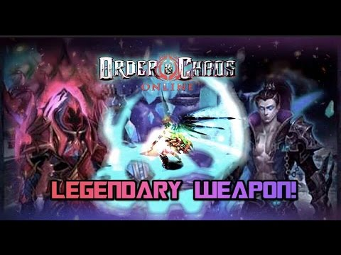 Order And Chaos Online - Legendary Weapon! - Completing Quest Line