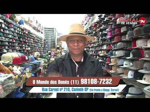 8d750e3c95 Bonés de 5,00 Chapéu de 5,00 😲no Brás - YouTube