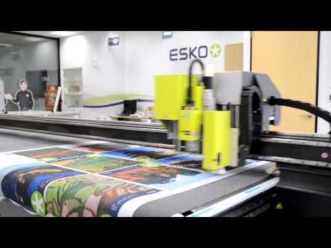 Kongsberg C60  Continuous textile cutting