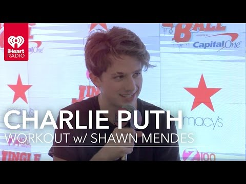 Charlie Puth Can't Wait to Workout with...