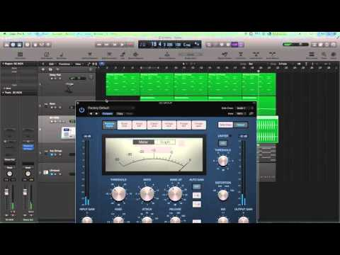 Logic Pro X – Sidechain Pumping Effect with an Aux Track + Compressor