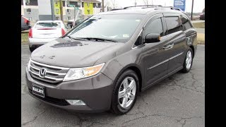 2012 Honda Odyssey Touring Elite Walkaround, Start up, Tour and Overview