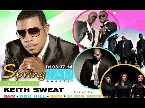 Hampton Spring Jam w/ Keith Sweat, GUY, Dru Hill, SWV & Slick Rick