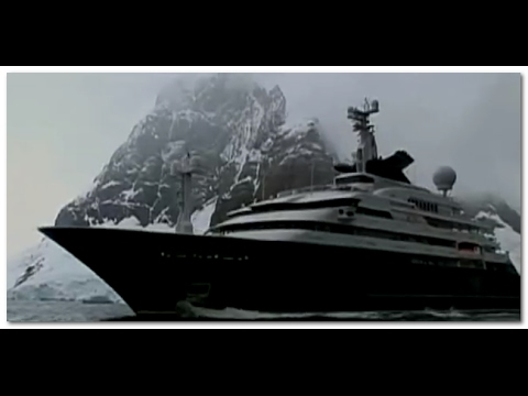 MICROSOFT'S PAUL ALLEN'S SUPER SECRET YACHT EXPLORES THE ANTARCTIC