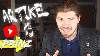 Artikel 13 wird Youtube NICHT zerstören! | Alexander Prinz