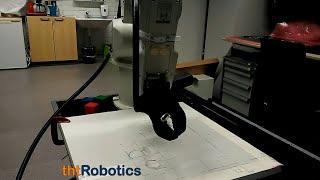 Adaptive Robotic Gripper. Transport of liquids