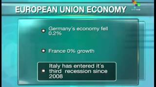 Latest figures show EU economy stagnating
