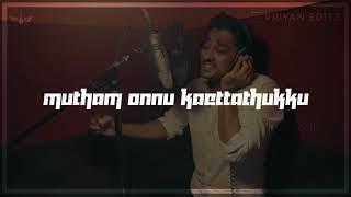 Maane Maane Unplugged Version || Uriyadi || Siddharth || Tamil Whatsapp Status || Priyan Editz