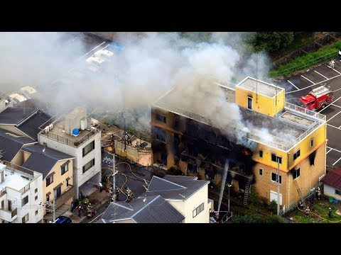 33 dead in 'arson' attack at Japanese animation studio in Kyoto