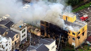 Multiple deaths in fire at famous Japanese animation studio