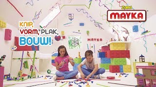 Mayka Bouwstenen Tape – Coolste uitvinding ooit! | Nieuw speelgoed | Officiële Nederlandse reclame