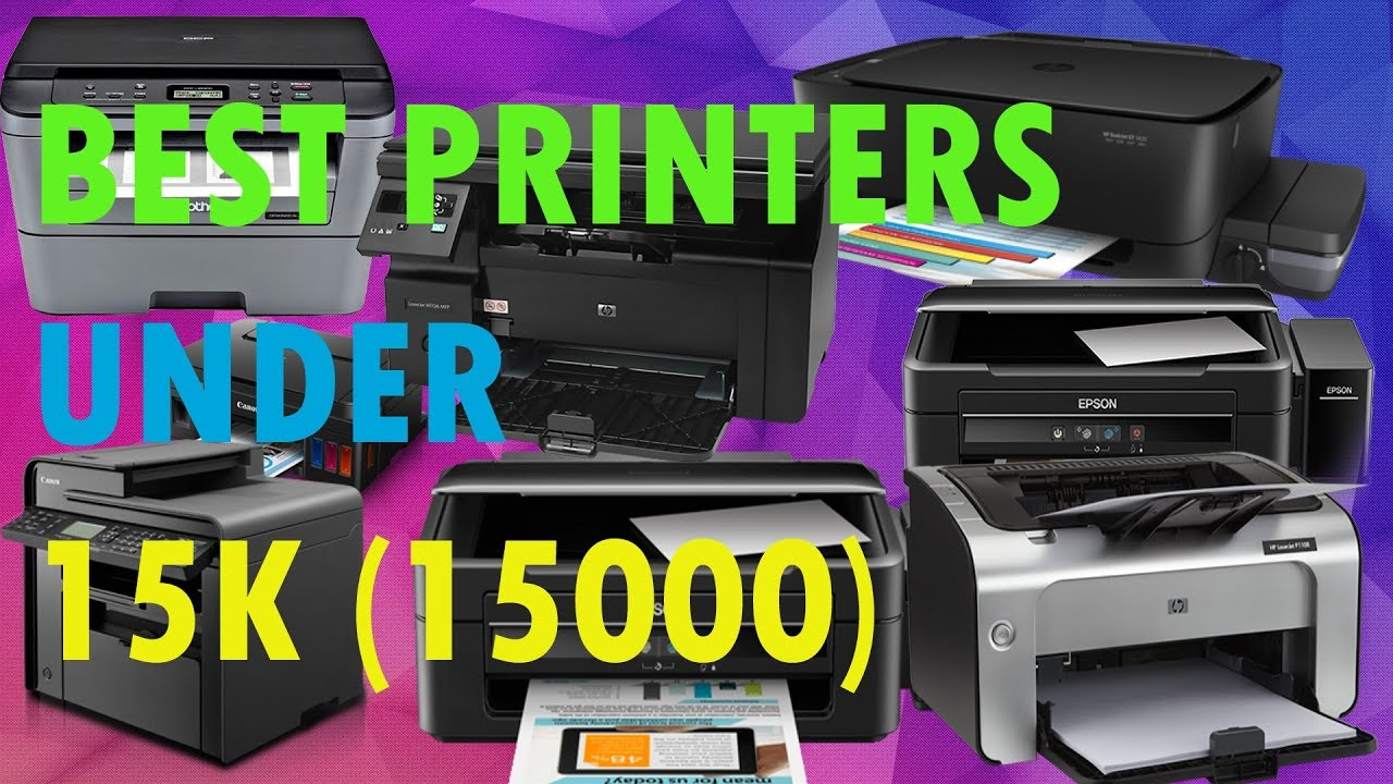 BEST BUDGET PRINTER UNDER 15K (15000), HP M1005, EPSON L380, L360, M200, HP  M1136, BROTHER L2520D by Technical Tower