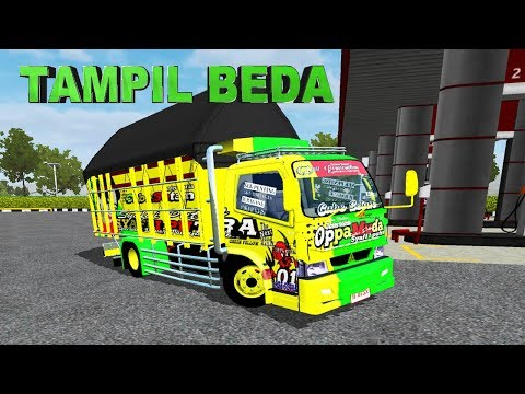 Tampilan Baru Oppa Muda Bussid Mod Truck Canter - 동영상