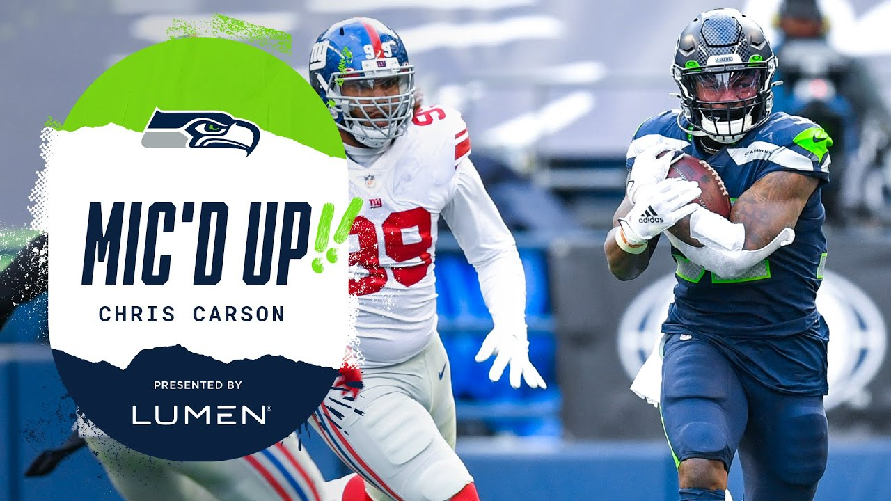 Seahawks Highlights: Chris Carson's 33 yard-run sets up Tyler ...