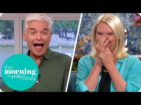 Anneka Rice's Slip Up Leaves Holly and Phillip in Hysterics | This Morning