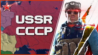 HOI4 - Iron Curtain - Soviet Union Timelapse