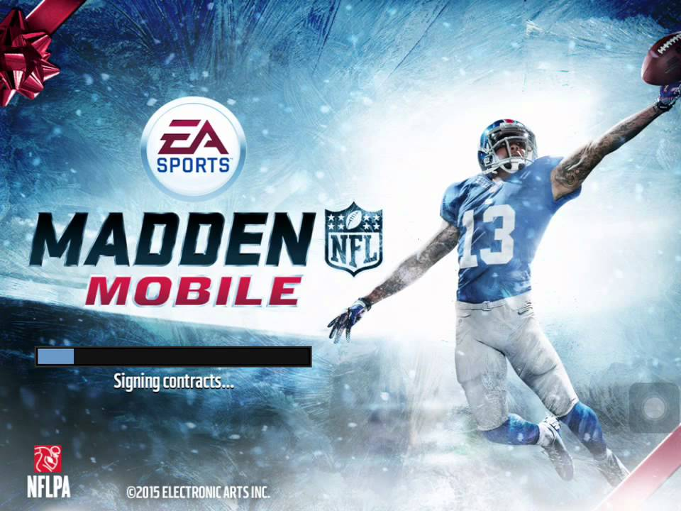 MADDEN MOBILE GIFTS REVEALED?? (2015 Frozen Promo) - YouTube