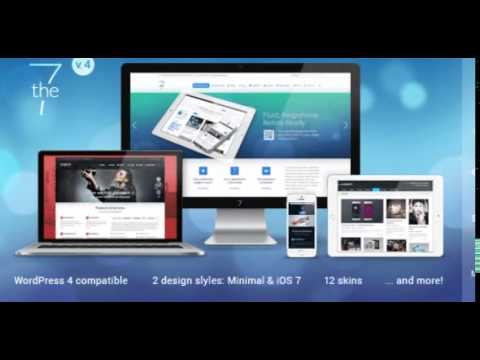 The7 - Responsive Multi-Purpose WordPress Theme v.4.4.5 free ...