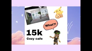 Cozy Cafe-15k | Bloxburg-Roblox |