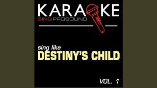 Sexy Daddy (Originally Performed by Destiny's Child) (Karaoke Instrumental Version)