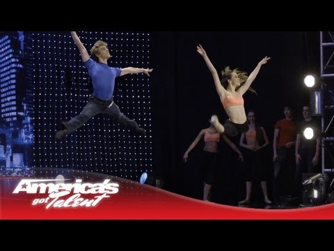 Rock Dance Project Ballet Their Way to Vegas! - America's Got Talent
