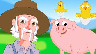 macdonald tua punya peternakan | lagu anak-anak | Old Macdonald