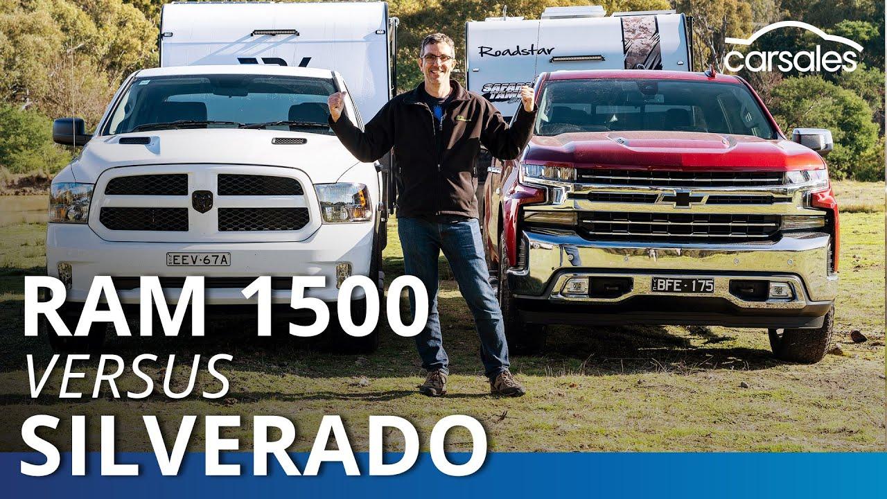 Chevrolet Silverado 1500 Ltz V Ram 1500 Express Crew 2020 Comparison Test Carsales Youtube