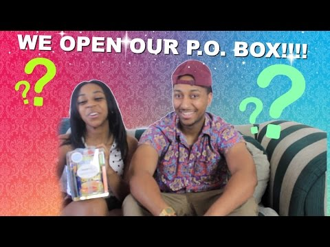 Couple Reacts : What's In Our P.O Box!!! + Never Have I Ever Questions?!?!