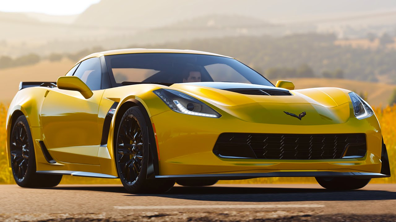 Captivating 2015 Corvette Z06 Review   BEST AMERICAN SPORTS CAR EVER? (FH2 May DLC)    YouTube