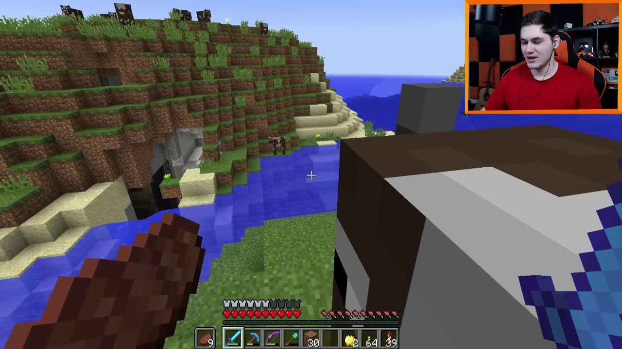 """Minecraft #293 –  """"Jaskinia bo co innego mam napisać XD!"""""""