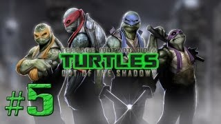 TMNT: Out of the Shadows - Chapter 2 - Part 5 (Walkthrough, Lets Play Commentary)