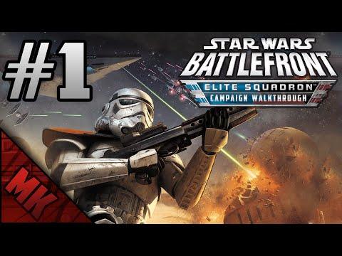 Let's Play Star Wars Battlefront - Elite Squadron #1