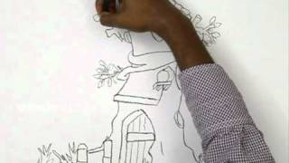 How to Draw a Tree House