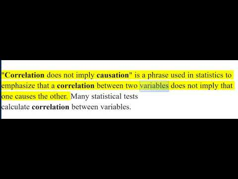 How is historical causation similar to correlation
