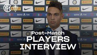 INTER 4-3 FIORENTINA | LAUTARO + D'AMBROSIO + SENSI EXCLUSIVE INTERVIEWS [SUB ENG]