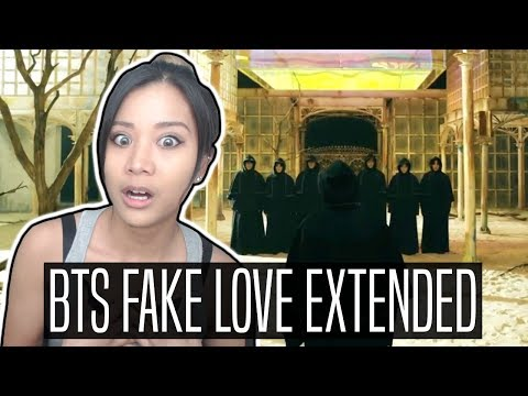 BTS (방탄소년단) FAKE LOVE EXTENDED REACTION   My Explanation & Theory