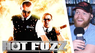 HOT FUZZ (2007) MOVIE REACTION!! FIRST TIME WATCHING!