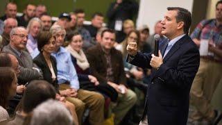 Ted Cruz slams Hillary Clinton at Iowa event