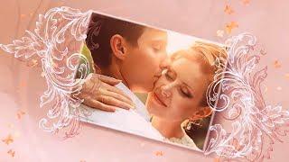 Эффектное свадебное слайд шоу из фотографий