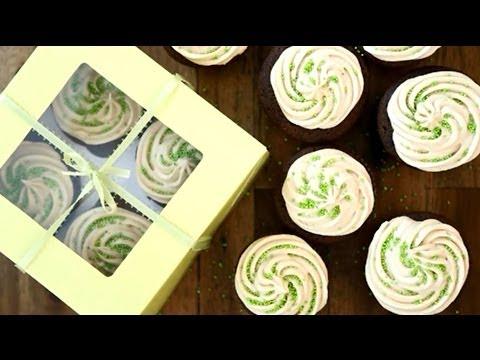 How to Make Chocolate Beer Cupcakes   St. Patrick's Day Recipes   Allrecipes.com
