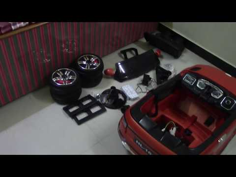 How to Assemble Battery Operated Ride on Car for Kids | Toy Car Fitting