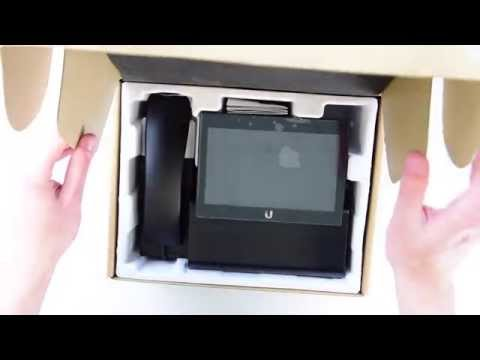 Unboxing Ubiquiti UVP Executive VoIP Telefon