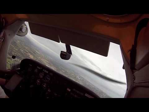 Bristol to Dublin (Weston) in a Cessna 182 Part 3 of 3. ATC AUDIO
