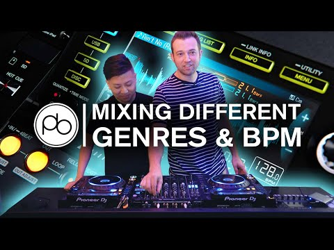 How to Mix Different Genres and BPM