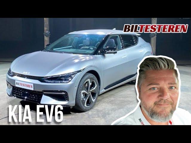 Kia EV6 -de første indtryk! (præsentation)