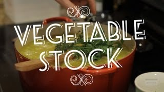 Vegetable Stock | The Domesticated Chef