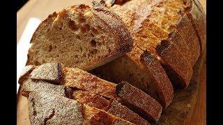 Хлеб с гречневой мукой, на закваске