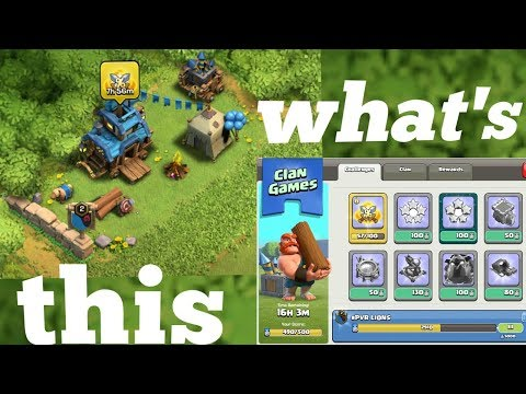 How to play clan games (Clash of clans)